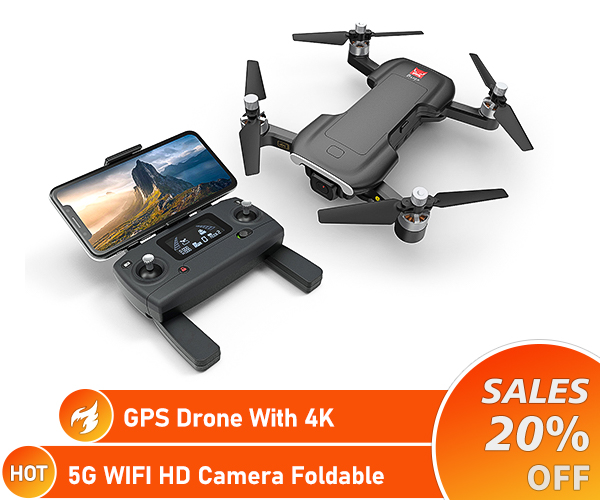 GPS drone 4K camera