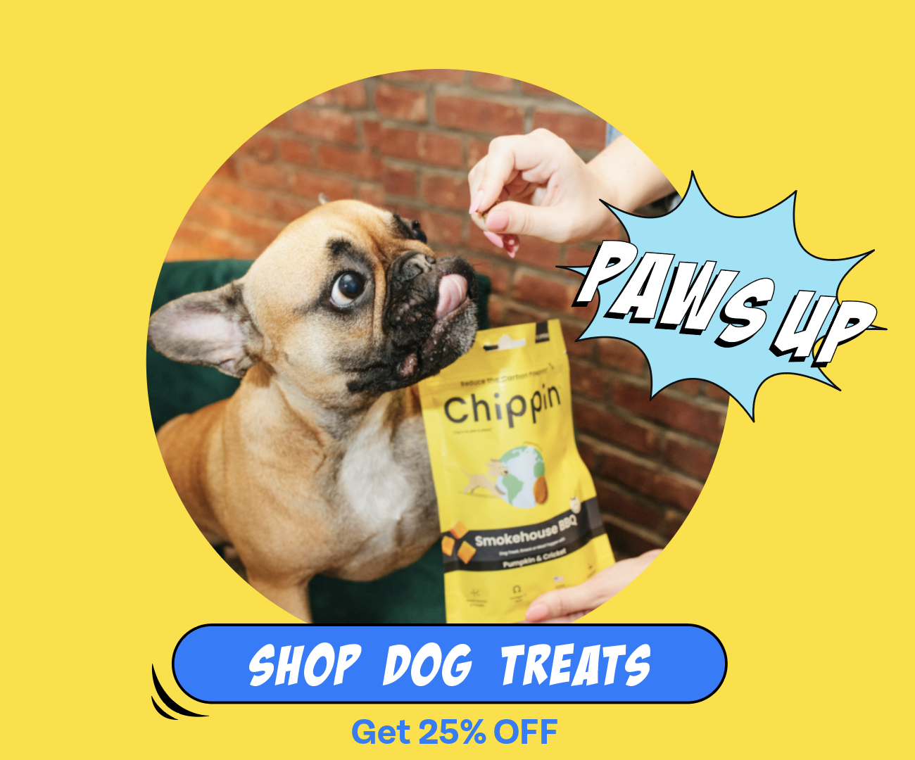 Chippin treats for dogs are the best dog training treats