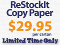 $29.95 Paper When You Spend $150 or More in Office Supplies