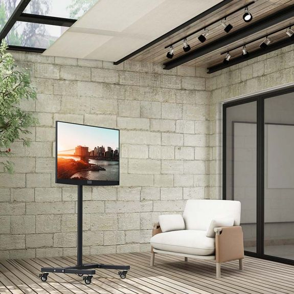 10% off rolling TV stand