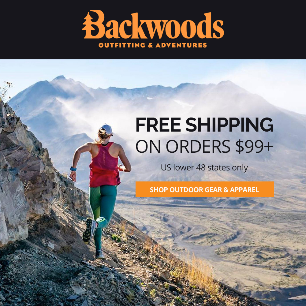 Free shipping on orders $99+ at Backwoods.com