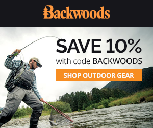 Save 10% with code BACKWOODS at Backwoods.com!