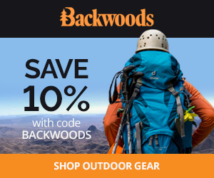 Save 10% with code BACKWOODS at Backwoods.com.