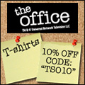 The Office T-shirts starting at $9.95