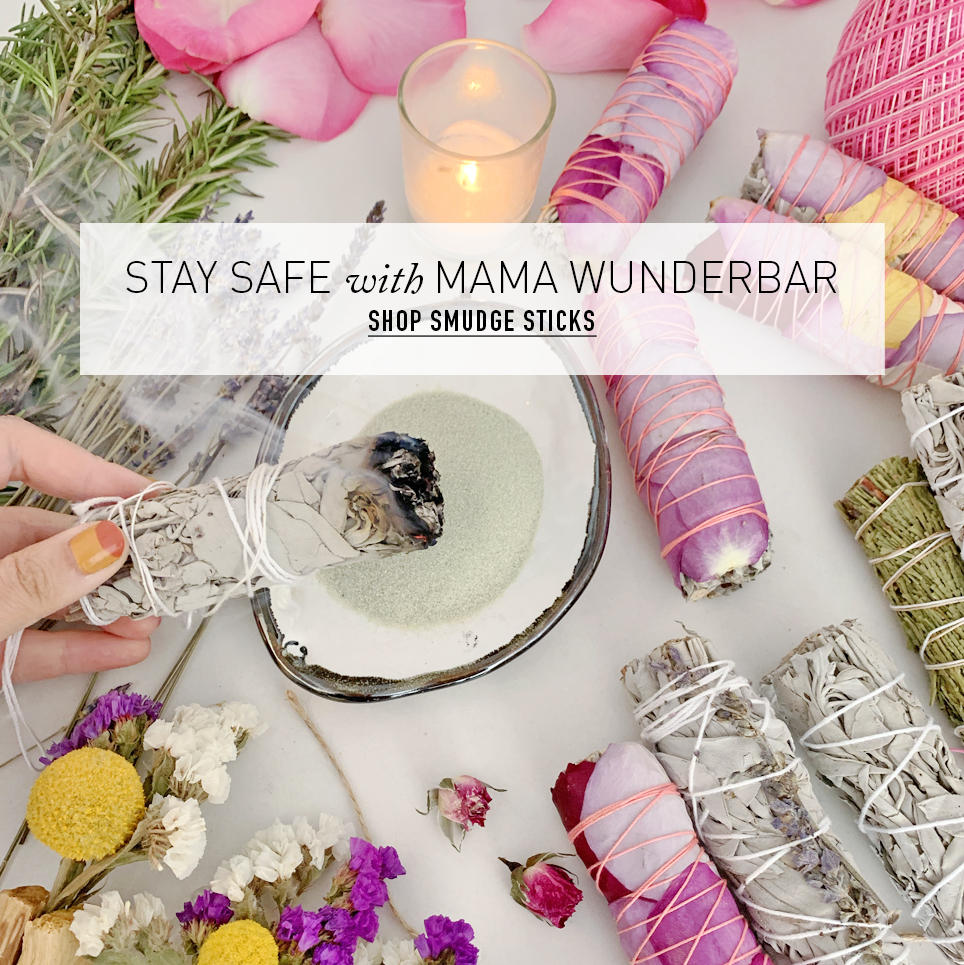 Stay Safe With Mama Wunderbar: Shop Smudge Sticks