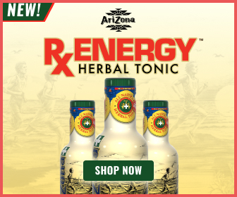 Arizona RX Energy Herbal Tonic Drink