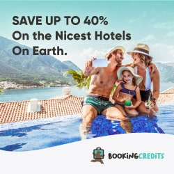 Get up to 40% back on every travel booking