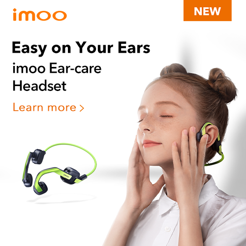 Easy on your Ears - imoo Ear-care Headset