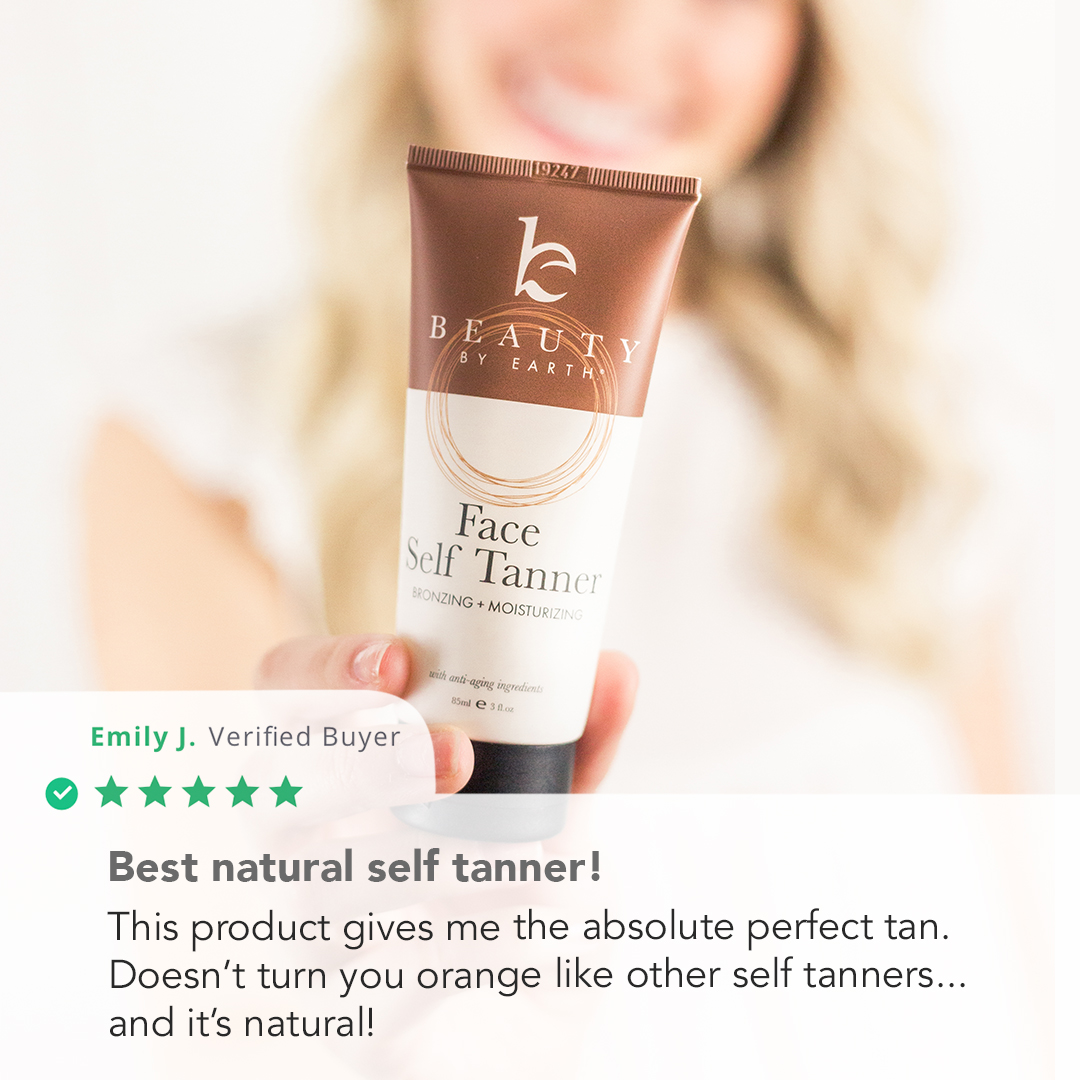 Face Self Tanner - Natural Ingredients