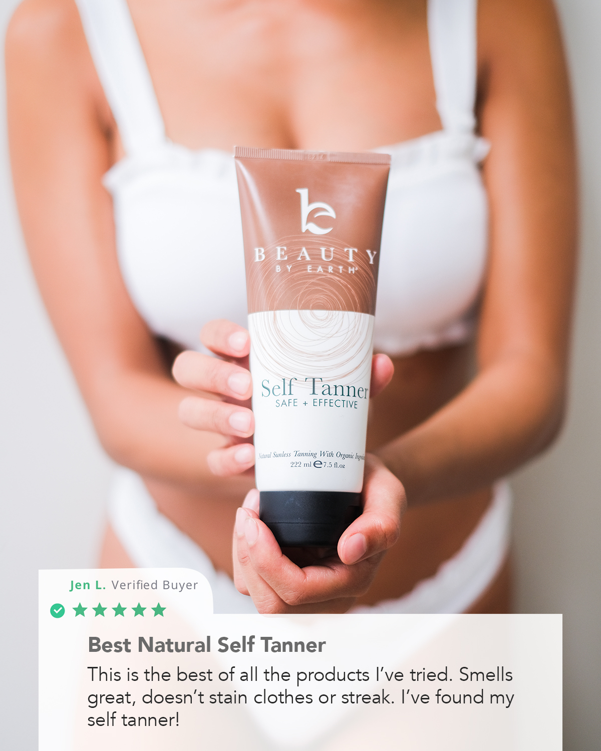 Shop Self Tanner at BeautyByEarth.com