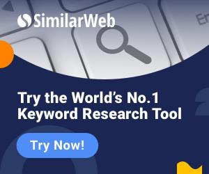 SimilarWeb Keyword Research Tool