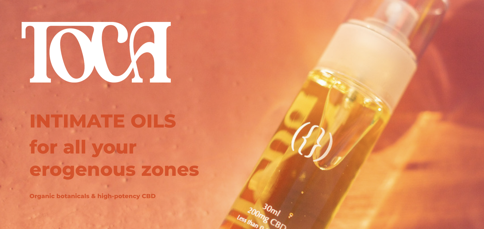 TOCA CBD intimate oils