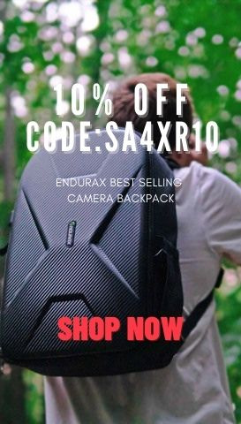 Enjoy the 10% off no limitation discount for Endurax Best Selling Backpack!!!