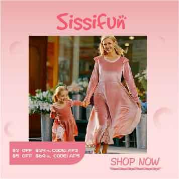 Sissifun $2 Off Sitewide Order $29+, Code: AF2