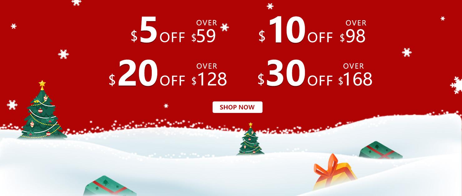 Sissifun.com Christmas Sale Save $5 Over $59
