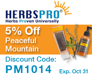 HerbsPro - Save 5% on Peaceful Mountain