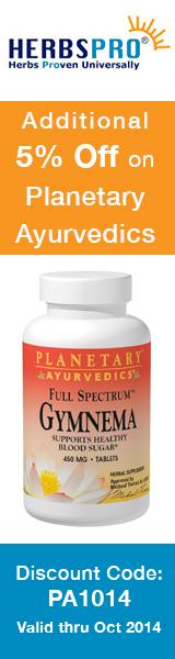 HerbsPro - Save 5% on Planetary Ayurvedics