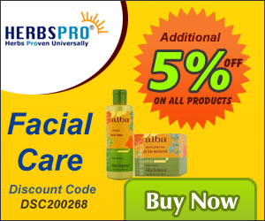 Get Additional 5% off on all Facial Care Products. Use Discount Code DSC200268