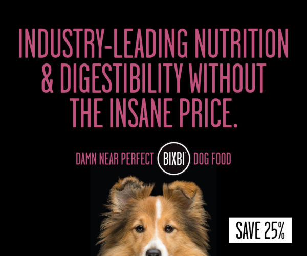 Save 25% off all Bixbi Dog Food and Treats