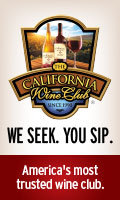 The California Wine Club. We seek. You sip. America's most trusted wine club.