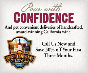 Pour with confidence and get convenient deliveries of handcrafted, award-winning California wine.