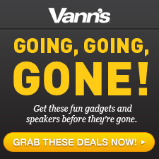 Check out Our Sneak Peek for Black Friday Sales at Vanns.com!