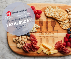 2 09 - Carved Solutions 15% Off Father's Day Sale