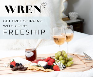 3 03 - Free Shipping on All Orders for WREN Home