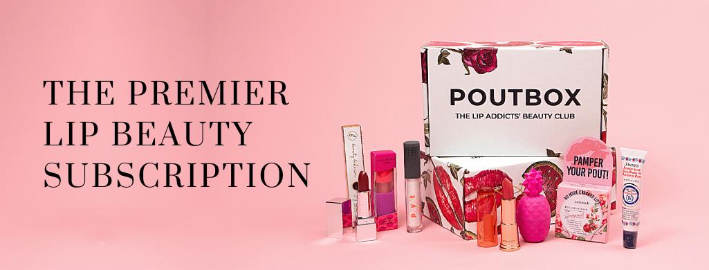 Poutbox Lip Beauty Membership