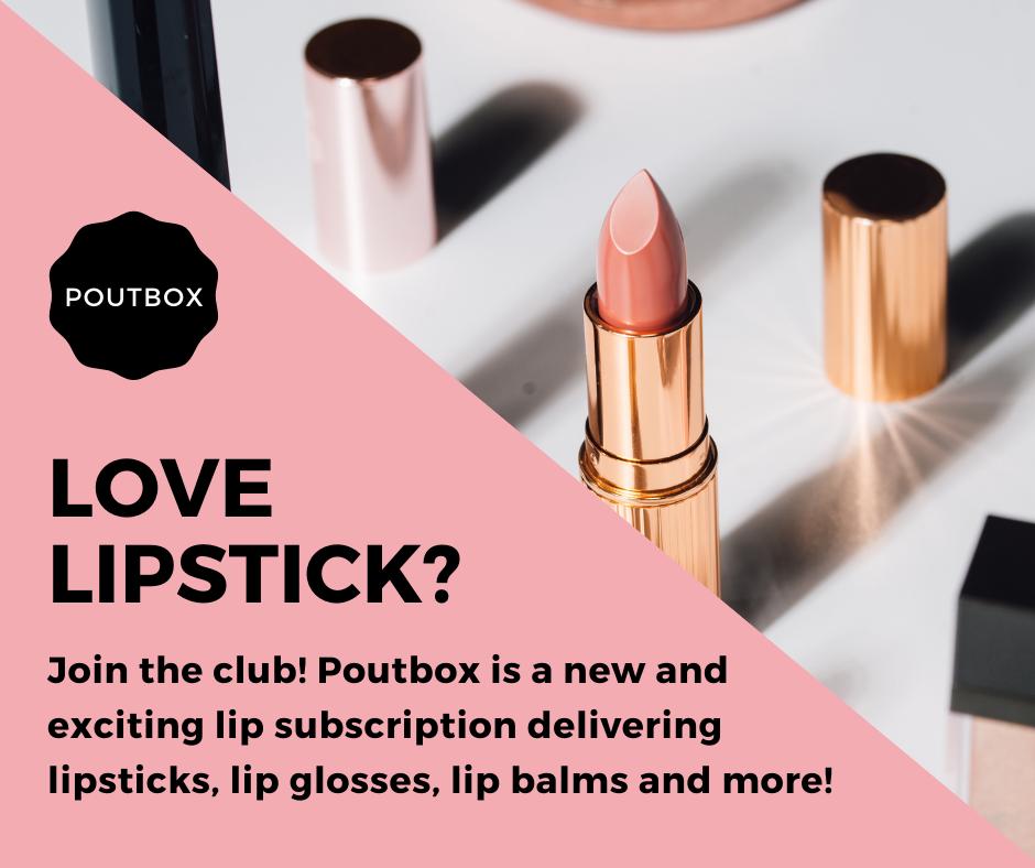 Poutbox Lip Subscription Box