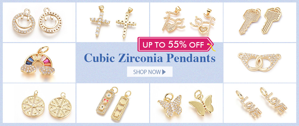 3 - Up To 55% OFF for Cubic Zirconia Pendants