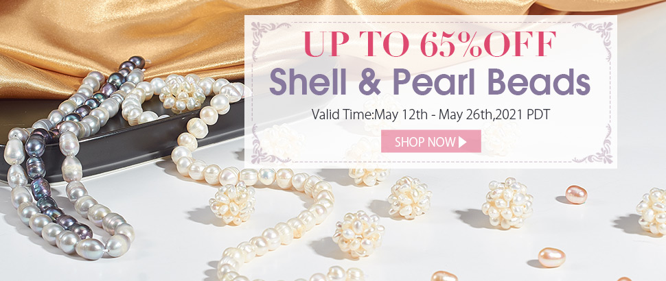 4 00 - Up To 65% OFF Shell & Pearl Beads