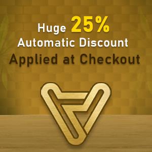 25% Automatic Discount!! Shop Now!!