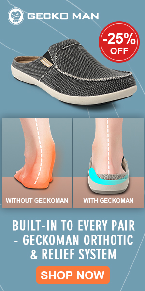 Geckoman shoes