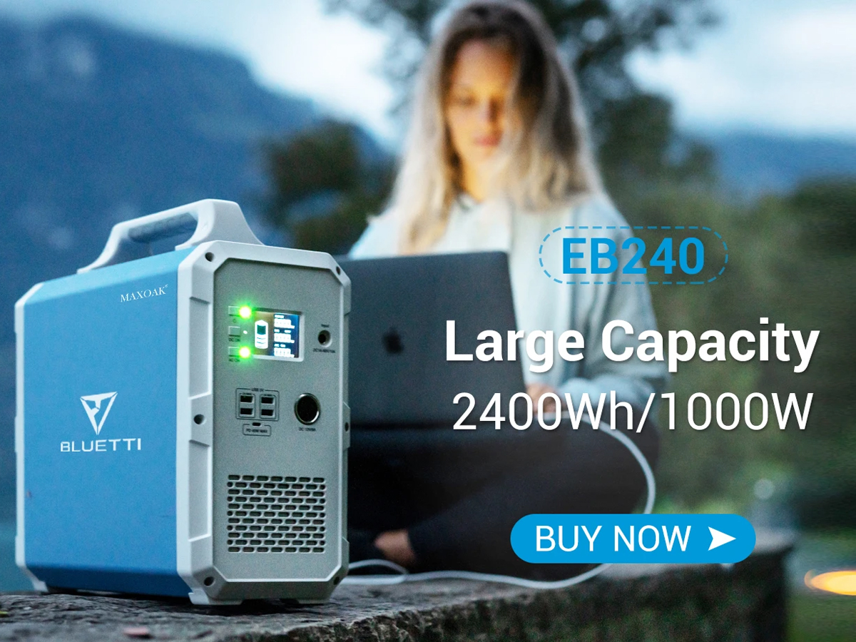 1000W Portable Solar Generator