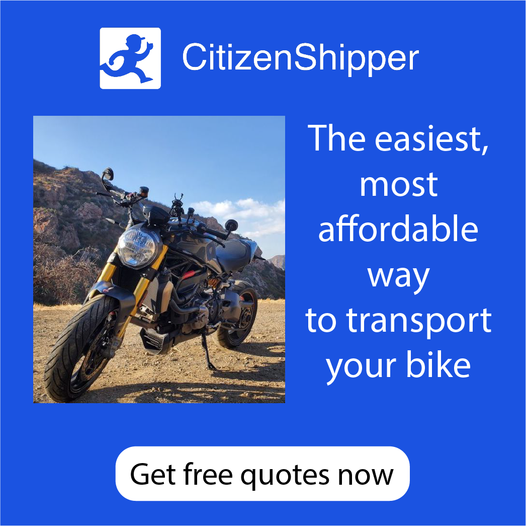 Free quotes on easy motorcycle shipping with CitizenShipper