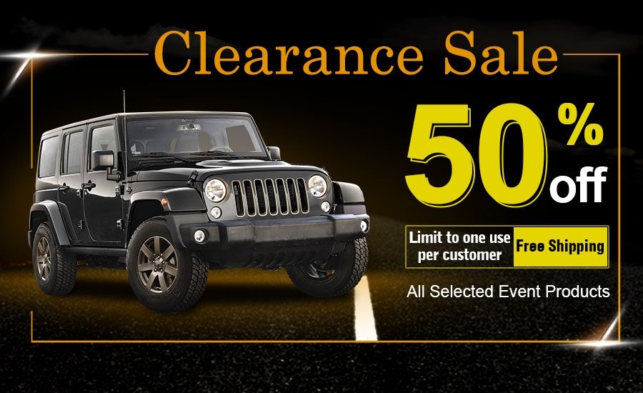 31 - YITAMOTOR Clearance sale-50% off for all