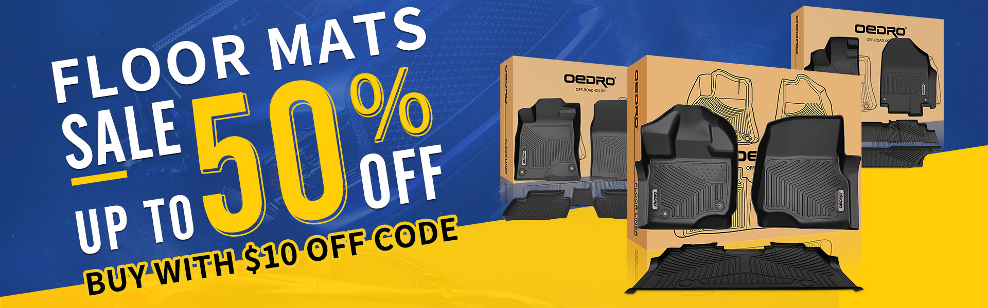 Oedro.com Floor Mats Sale Up To 50% off
