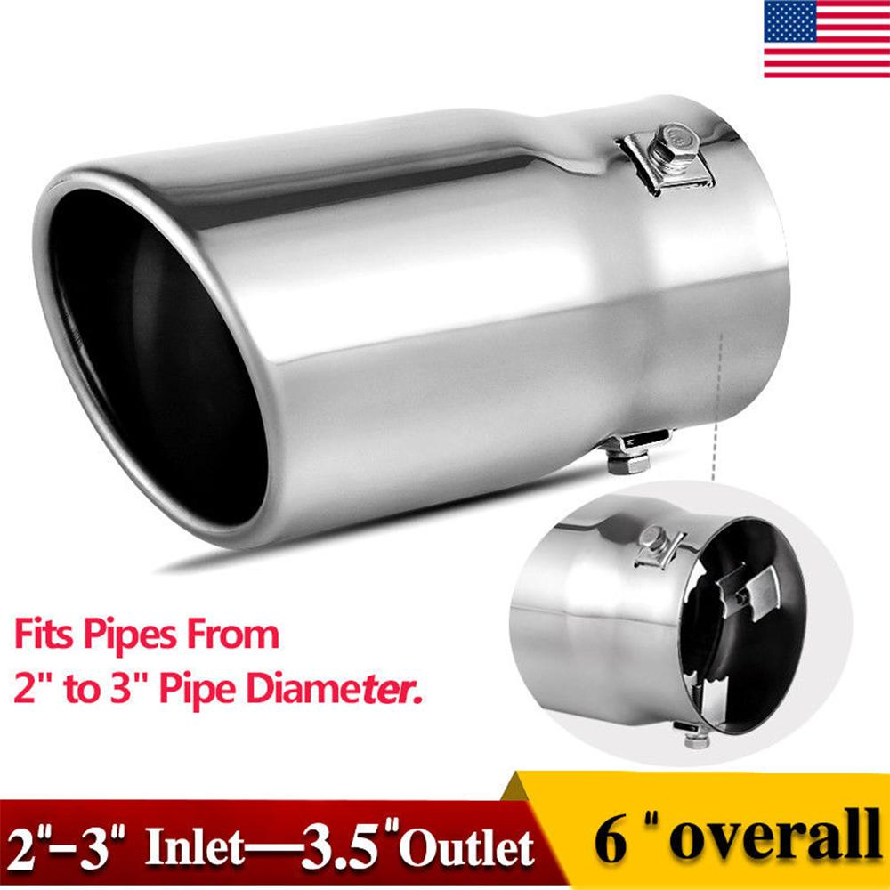 yitamotor.com - Labor day sale-30% off 2-2.5 Inch Inlet Adjustable Exhaust Tip