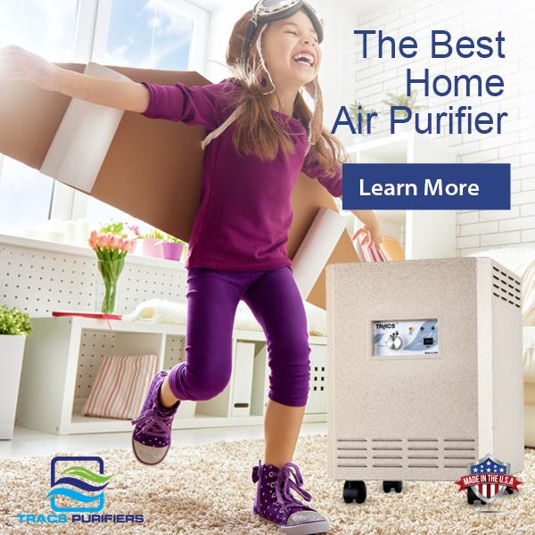 The Best Home Air Purifier is TRACS Portable UV-C Air Purifier