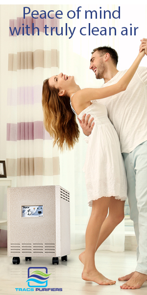 Peace of Mind with Truly Clean Air with our TRACS Air Purification System
