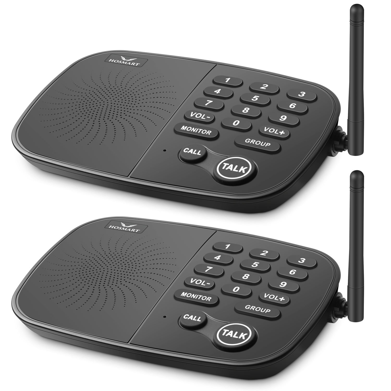 $20 OFF Hosmart 10-Channel Wireless Intercom System