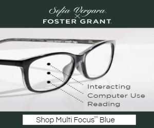 Sofia Vergara Foster Grant Blue Light Readers Collection