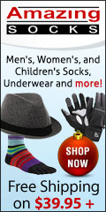 Outfit the whole family in socks, underwear and more, at AmazingSocks.com!