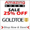 25% Off Gold Toe