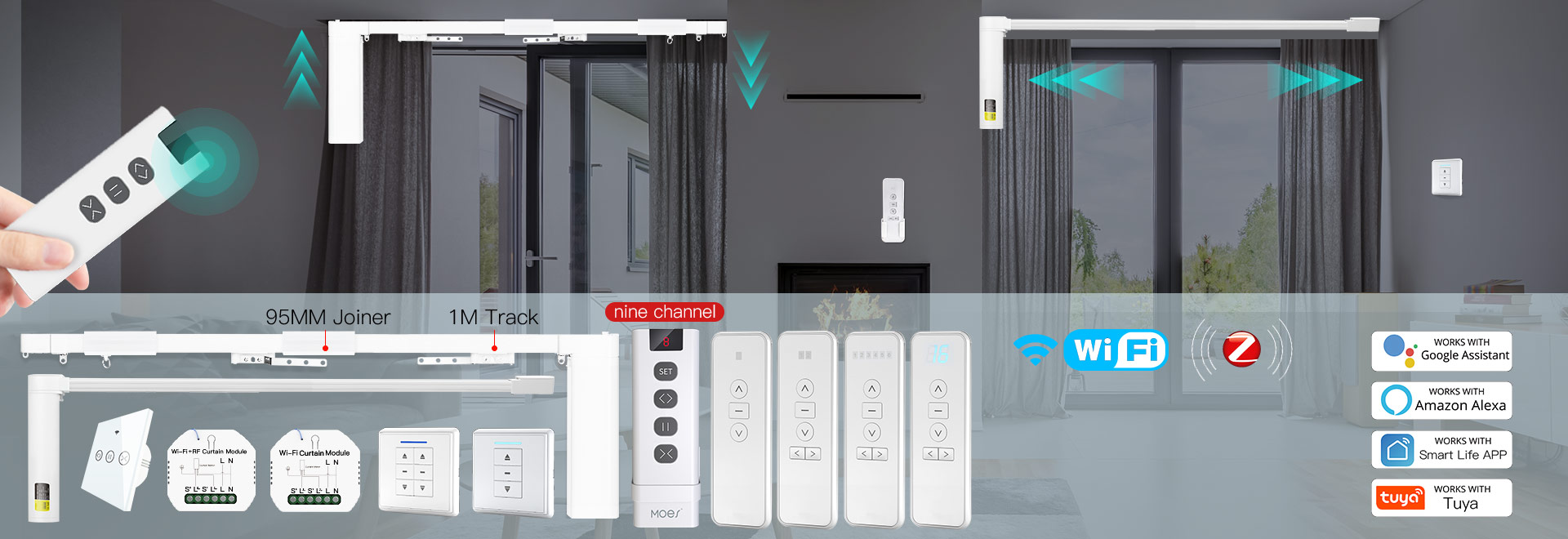 Smart Curtain Control System