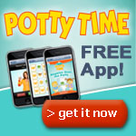 Get the free Potty Time app!