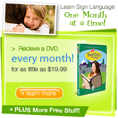 Signing Time DVD of the Month Club