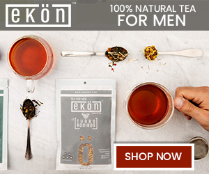 100% Natural Tea for Men. Ekön is the first ever functional tea line designed for men. Each blend is crafted with targeted organic ingredients that benefit the male body.
