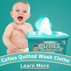 Cuties Baby Wipes at CWI Medical